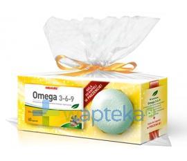 Omega 3-6-9 60 kapsułek + kula do kąpieli gratis