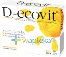 D3-ecovit 30 kapsułek twist-off