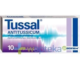 Tussal Antitussicum 10 tabletek