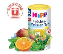 HIPP Herbatka Owoce + Melisa po 8 m-cu granulat 200g