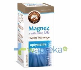 Magnez z witaminą B6 30 kapsułek LABORATORIA NATURY