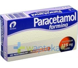 Paracetamol czopki 0,125g 10 sztuk