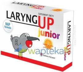 Laryng Up Junior 24 tabletki do ssania