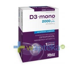 D3 Mono 2000 j.m. 60 kapsułek