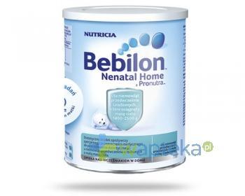 Bebilon Nenatal Home z Pronutra mleko dla wcześniaków 400g