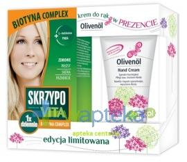 Skrzypovita 1 x dziennie Biotyna Complex 42 tab. + Olivenol krem do rąk 50ml GRATIS