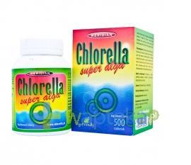 Chlorella algi prasowane 500 tabletek