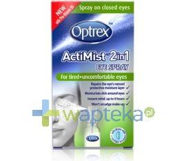 OPTREX ACTMIST spray 2 w 1 do zmęczonych oczu 10 ml