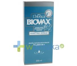 BIOVAX szampon KERATYNA+JEDWAB 400ml