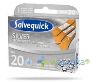 Plastry Salvequick Silver 20 sztuk