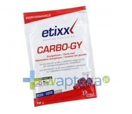 Etixx Carbo-Gy proszek 12 saszetek po 70g