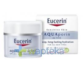 EUCERIN AQUAPORIN ACTIVE Krem nawilżający do wszystkich typów skóry Ochrona UVA/UVB (SPF 25) 40ml