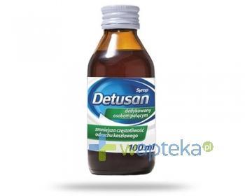 Detusan syrop na kaszel palacza 100 ml