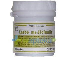 Węgiel leczniczy 20 kapsułek Microfarm