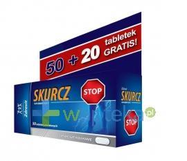 Zdrovit Skurcz 50 tabletek + 20 tebletek gratis
