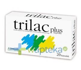 Trilac plus 20 kapsułek