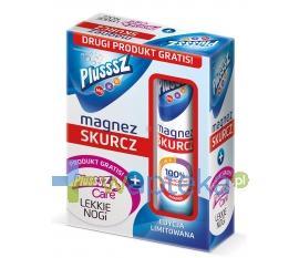 Plusssz Magnez Skurcz 20 tabletek musujących + Plusssz Care Lekkie Nogi 15 tabletek musujących