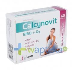 Calcynovit 1250+D3 tabletki powlekane 60 sztuk