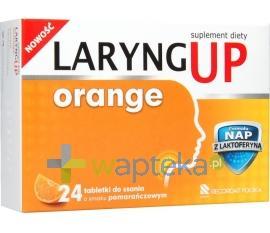 LARYNG UP Orange 24 tabletki do ssania