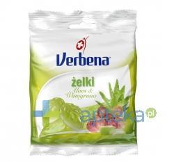 VERBENA Żelki Aloes i winogrona 60 g