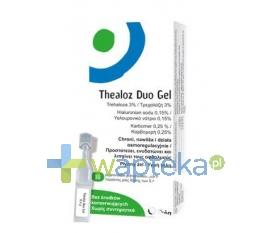 Thealoz Duo Żel do oczu 10 minimsów po 0,4 ml