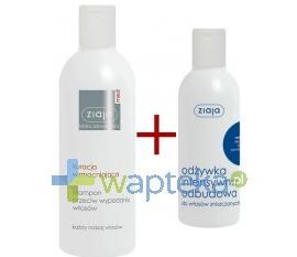 ZIAJA MED KURACJA WZMACNIAJĄCA Szampon 300 ml + ZIAJA Odżywka do włosów ceramidy intensywna odbudowa 200ml