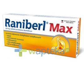 Raniberl Max 20 tabletek