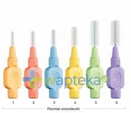 Szczoteczki międzyzębowe TePe ekstra miękkie niebieska 3( 0,6 mm) 8 sztuka