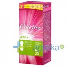 Wkładki higieniczne CAREFREE ALOE 20 sztuk