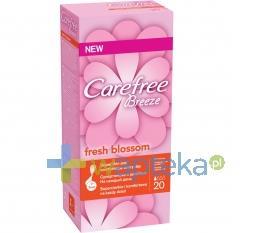 Wkładki higieniczne CAREFREE BREEZE fresh blossom 20 sztuk