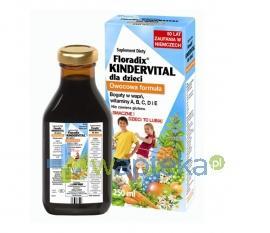 FLORADIX KINDERVITAL dla dzieci 250ml