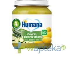 Humana 100% Organic Cukinia z ziemniaczkami 125g + HUMANA 2 28g GRATIS