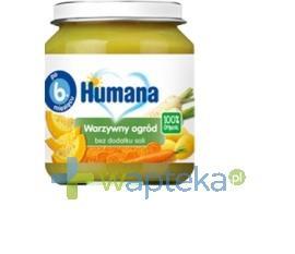 Humana 100% Organic Warzywny ogród 125g + HUMANA 2 28g GRATIS