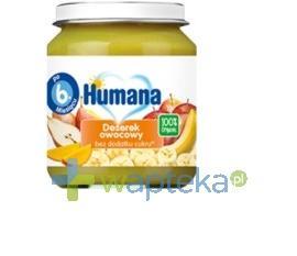 Humana 100% Organic Deserek owocowy 125g