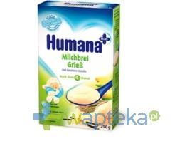 Humana Kaszka mleczna, ryżowo-kukurydziana z wanilią 250g