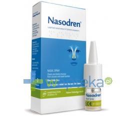 NASODREN aerozol do nosa 50 mg