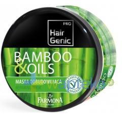 FARMONA HAIR GENIC bamboo & oils Maska odbudowująca 300 ml