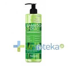 FARMONA HAIR GENIC bamboo & oils Szampon wzmacniający 400 ml