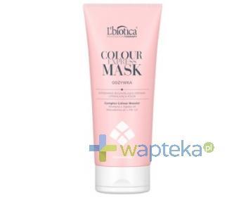 LBIOTICA EXPRESS Mask Colour Professional Therapy Odżywka do włosów 200ml - Kupując 2 produkty Lbiotica Professional Therapy otrzymasz Szczotkę GRATIS