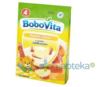 BoboVita Kaszka ryżowa o smaku jabłkowym po 4 miesiącu 180 g