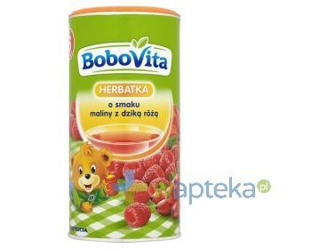 BoboVita Herbatka o smaku maliny z dziką różą po 6 miesiącu 200 g