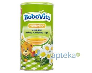 BoboVita Herbatka o smaku melisy, rumianku i lipy po 6 miesiącu 200 g