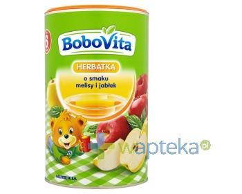 BoboVita Herbatka o smaku melisy i jabłek po 6 miesiącu 400 g