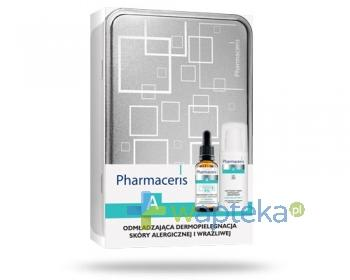Pharmaceris A E-Sensilix koncentrat z witaminą E 8% wygładzająco regenerujący 30 ml + Pharmaceris A Sensi-Relastine-E krem peptydowy SPF20 napinająco ujędrniający 50 ml - ZESTAW [WYPRZEDAŻ]