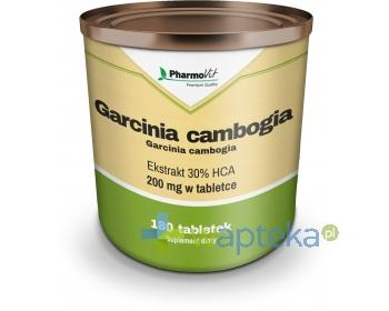 Garcinia Cambogia ekstrakt 30% HCA 180 tabletek PharmoVit + torba na zakupy [GRATIS]