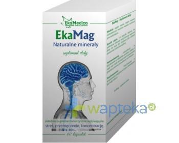 EkaMag magnez EkaMedica 60 kapsułek