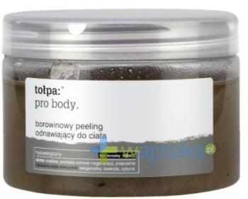 Tołpa pro body borowinowy peeling odnawiający do ciała 450 g