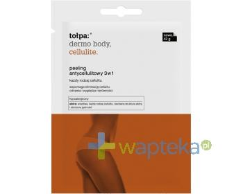 Tołpa dermo body cellulite peeling antycellulitowy 3w1 saszetka 42 g