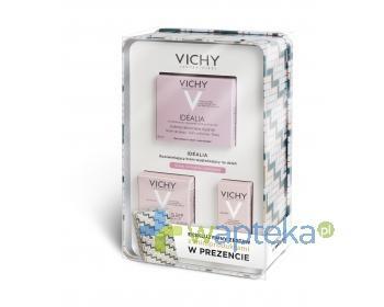 VICHY IDEALIA Zestaw Rozświetlający krem wygładzający do skóry suchej 50ml + miniprodukty