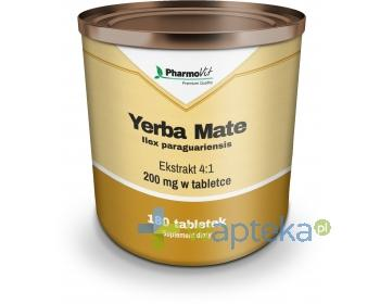 Yerba Mate ekstrakt 4:1 180 tabletek PharmoVit